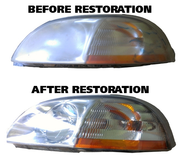 Headlight and Lens Restoration